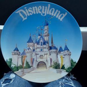 Disneyland Plate for decoration.